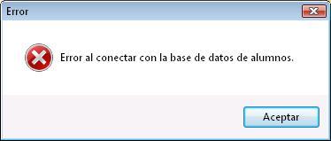 Error conectando con base de datos OLEDB